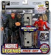 Toy Biz Marvel Legends Face Off - Daredevil versus Kingpin Variant