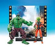 Toy Biz Marvel Legends Face Off - Hulk versus Leader