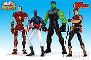Toy Biz Marvel Legends Young Avengers Group