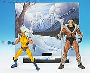 Toy Biz Marvel Legends Face-Off - Wolverine versus Sabretooth