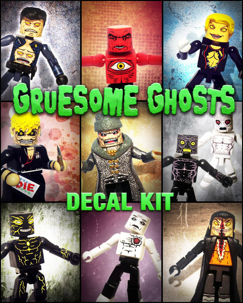 Gruesome Ghosts Decal Kit