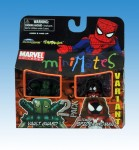 Marvel Minimates Ultimate Spider-Woman Variant and Vault Guardsman