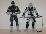 Male SHIELD Agent and Hand Ninja
