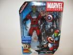 Marvel Universe Gigantic Battles Skrull Giant Man and Captain America in package