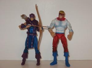 Secret Wars Hawkeye and Piledriver