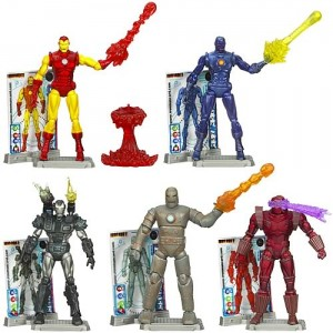 Iron Man 2  Comic Figures Wave One