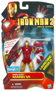 Iron Man 2 - Mark VI - in package