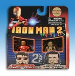 Iron Man 2 Borders Exclusive Minimates Front
