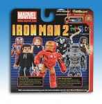 Iron Man 2 Borders Exclusive Minimates Back