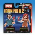 Iron Man 2 C2E2 Exclusive Minimates Back