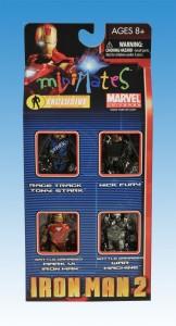 Iron Man 2 Action Figure Xpress Exclusive Box Set Front