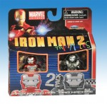 Iron Man Mark V Armor and War Machine