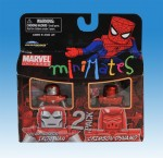 Marvel Minimates TRU Wave 7 Crimson Dynamo and Silver Centurion Iron Man