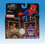 Marvel Minimates TRU Wave 7 Lockjaw and Betsy Braddock