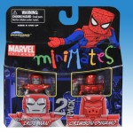 Marvel Minimates Series 36 Silver Centurion Iron Man and Crimson Dynamo