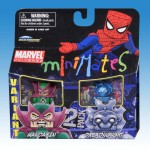 Marvel Minimates Series 36 Classic Mandarin Variant and Dreadnought