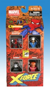 X-Force SDCC Minimates Front