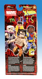 X-Men Previews Exclusive Miniimates Back