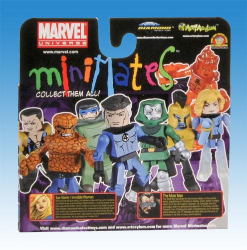 Marvel Minimates TRU Wave 8 Package Back