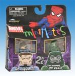 Marvel Minimates TRU Wave 8 Mr. Fantastic Dr. Doom Front