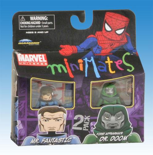 Marvel Minimates TRU Toys R Us Wave 8 Human Torch