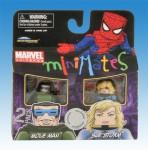 Marvel Minimates TRU Wave 8 Mole Man and Sue Storm Front