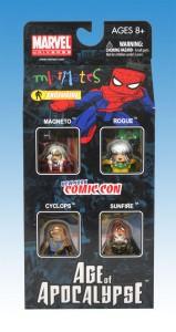 AFX NYCC Age of Apocalypse Minimates Box Front