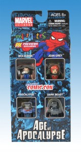 Diamond Previews NYCC Age of Apocalypse Minimates Box Front