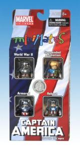 Captain America Through The Ages Minimates TRU Box Set Front