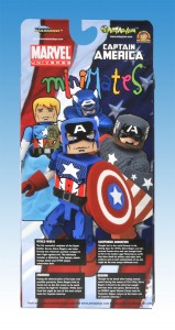 Captain America Through The Ages Minimates TRU Box Set Back