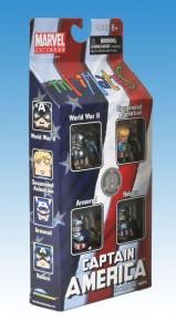 Captain America Through The Ages Minimates TRU Box Set Side