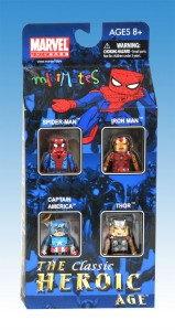 The Heroic Age Marvel Minimates Box Set Front