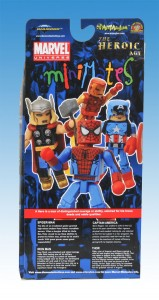 The Heroic Age Marvel Minimates Box Set Back