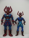Masterworks Galactus and Marvel Legends Galactus