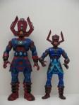 Masterworks Galactus and Marvel Legends Galactus