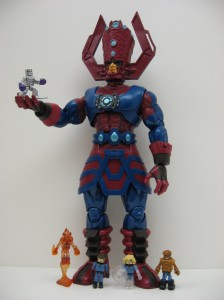 Galactus and Fantastic Four Minimates