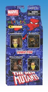 Marvel Minimates New Mutants NYCC Box Set Front
