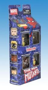 Marvel Minimates New Mutants NYCC Box Set Side