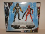 Deadpool and Warpath variants package back