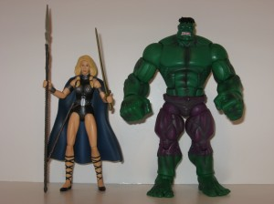 Hulk and Valkyrie