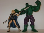 Hulk and Valkyrie in action 02