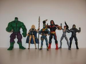 Marvel Legends Two-Packs Group