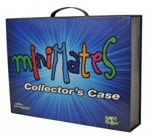 Minimates Collectors Carrying Case Closed