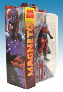 Marvel Select Magneto Package Side