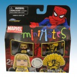 TRU Marvel Minimates Series Nine New Mutants Magik and Warlock