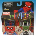 TRU Marvel Minimates Series Nine Six-armed Spider-Man and Silver Age Lizard