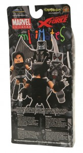 Uncanny X-Force Minimates Box Set Back