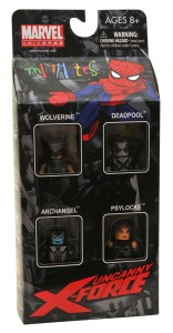 Uncanny X-Force Minimates Box Set Front