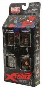 Uncanny X-Force Minimates Box Set Side