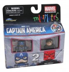 TRU Captain America Movie Minimates Captain America and Red Skull